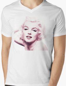 Marilyn Monroe Mens V-Neck T-Shirt