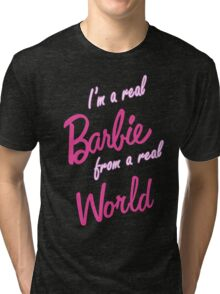 Real Barbie Tri-blend T-Shirt