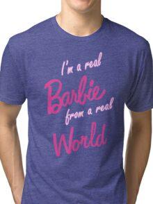 Real Barbie Tri-blend T-Shirt
