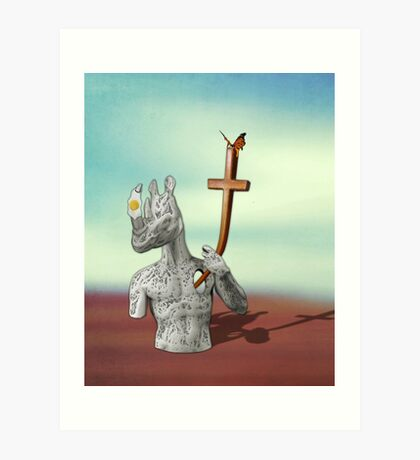 We All Have our Cross to Bear Art Print