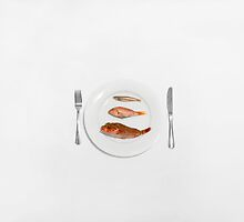 Three Course Meal by Daniel  Barrie