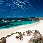 Peaceful Bay - Rottnest Island by Heather Linfoot