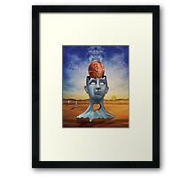 A Penny for Your Thoughts Framed Print