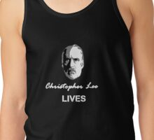 Christopher Lee Lives Tank Top