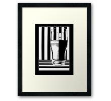 Zebra Juice No2 Framed Print