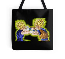 Goku vs Vegeta Tote Bag