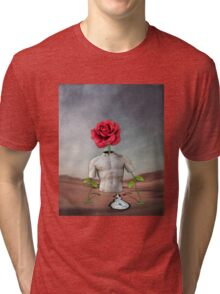 Time Slips Away, Pain Fades and Hope Blooms Tri-blend T-Shirt