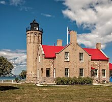 Old Mackinaw Point Lighthouse by PhotosByHealy