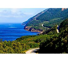 Cabot Trail Nova Scotia Photographic Print