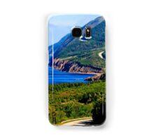 Cabot Trail Nova Scotia Samsung Galaxy Case/Skin