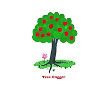 Tree Hugger Photographic Print
