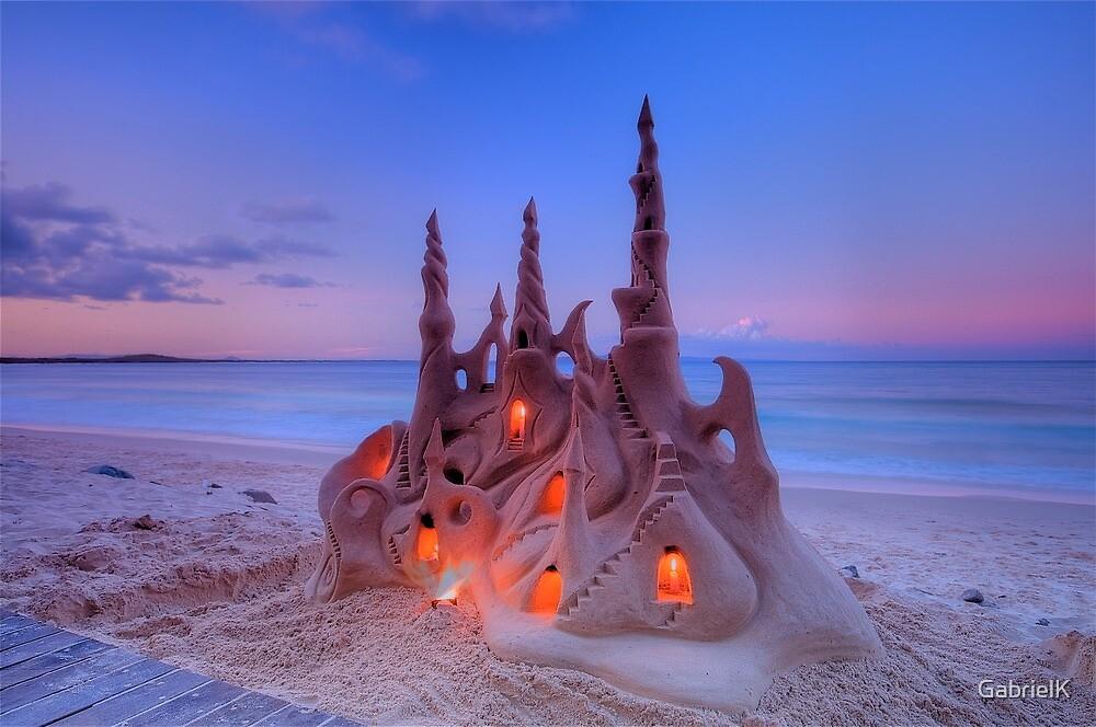Sand Castle by GabrielK