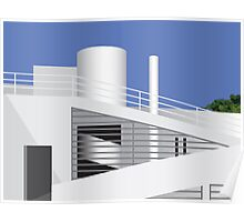Iconic Modern Buildings 03-04 Poster