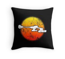Star Empire Battle Cruiser D7 Flyby - Dark Throw Pillow