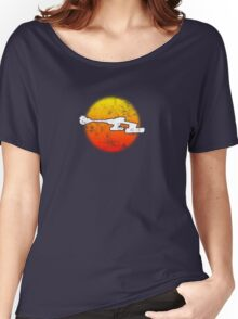 Star Empire Battle Cruiser D7 Flyby - Dark Women's Relaxed Fit T-Shirt