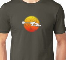 Star Empire Battle Cruiser D7 Flyby - Dark Unisex T-Shirt