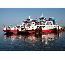 Ferry Boats from Djerba Island to Tunisia's Mainland Photographic Print