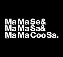 Ma Ma Se Helvetica Ampersand MJ Throwback by juk3box