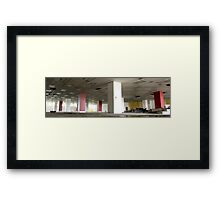 Unloved office! Framed Print