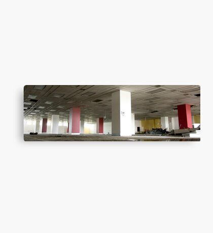 Unloved office! Canvas Print