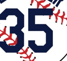 Justin Verlander Baseball Design Sticker