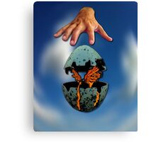 Transformation of New Life Canvas Print