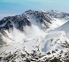 Mt St. Helens,Washington by Jennifer Hulbert-Hortman