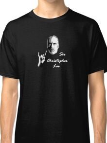 Sir Christopher Lee Classic T-Shirt