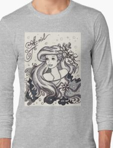 Iconic A Long Sleeve T-Shirt
