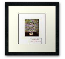 the tree of unity Framed Print