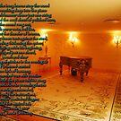 Piano Player-Palace Seteais-Sintra, Portugal by Wayne Cook