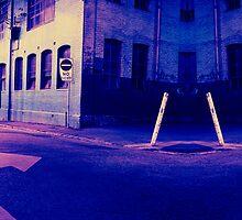 Urban Night Scene 3 by Mary Grekos