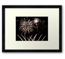Light Display Framed Print