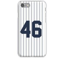 Number 46 Pinstripe Design iPhone Case/Skin