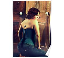 Corseted Beauty Poster