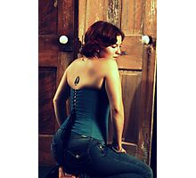 Corseted Beauty Photographic Print