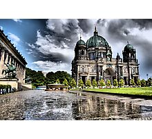 """Berliner Dom"" Photographic Print"
