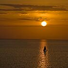 Sailboat Sunset by barkeypf