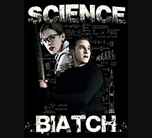Science Biatch! // AOS // Fitzsimmons Womens Fitted T-Shirt