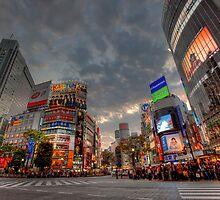 Shibuya • Tokyo • Japan by William Bullimore