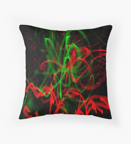 Jackson Pollock Photography - Pooka #1 Throw Pillow