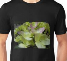 Green and White Splashes Unisex T-Shirt