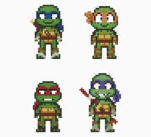 Teenage Mutant Ninja Turtles 2012 Mini Pixels Kids Clothes
