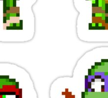 Teenage Mutant Ninja Turtles 2012 Mini Pixels Sticker