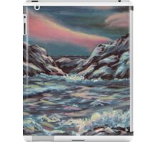 Seascape with Northern Lights iPad Case/Skin