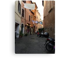 TYPICAL ROME Canvas Print