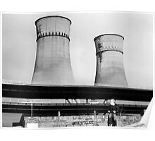 Cooling Towers / Viaduct / Boy Poster