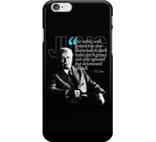 A Quote from Carl Gustav Jung Quote #10 of 50 available iPhone Case/Skin