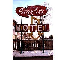 Starlite Motel Photographic Print