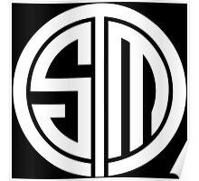 CS:GO Team Solo Mid Logo WHITE Poster